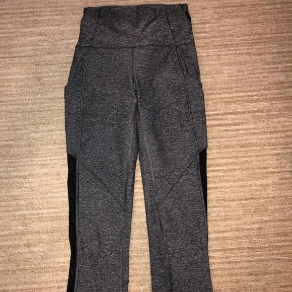 33f3aa5191192 lululemon athletica Pants | Lulu Lemon Cropped Leggings With Pockets ...